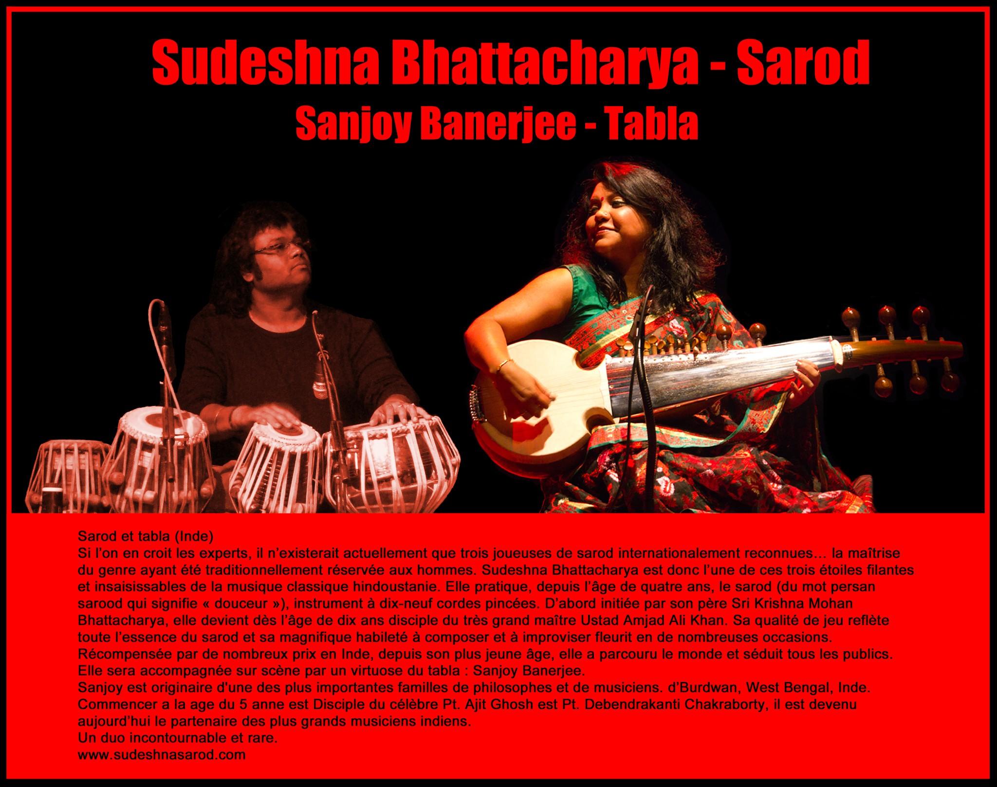Photo: Sudeshna Bhattacharya - Sarod - sabART