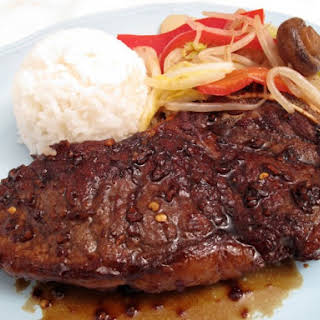 Teriyaki New York Strip Steak by McCormick Grill Mates.