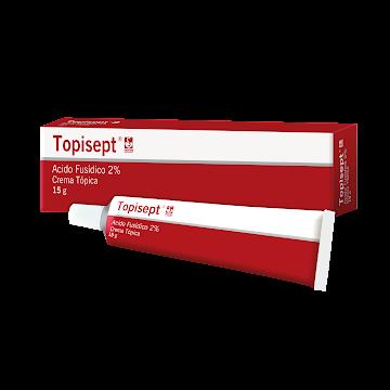 Topisept 2% Crema Tubo   x15G. Siegfried Ácido Fusídico