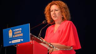 Presidenta de la Mancomunidad y alcaldesa de Garrucha, María López Cervantes.