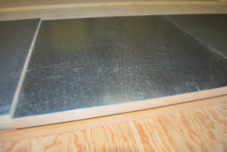 Photo: Sing Core's Aluminum Clad Honeycomb Panels available in all range of sizes and thicknesses