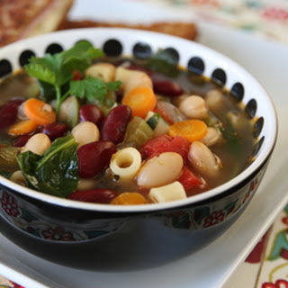 Spicy Minestrone Soup Recipes.