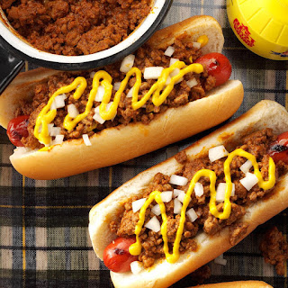 Old-Fashioned Coney Hot Dog Sauce.