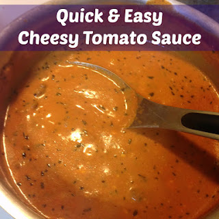 Quick and Easy Cheesy Tomato Sauce