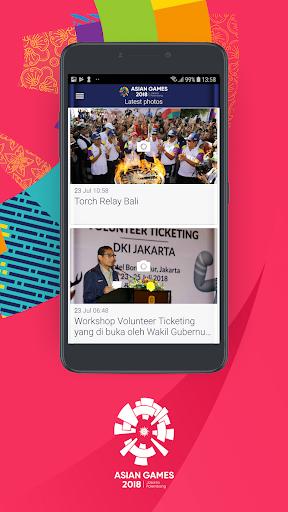 18th Asian Games 2018 Official App 1.0.2 screenshots 4