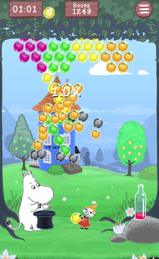 Moomin Bubble- screenshot