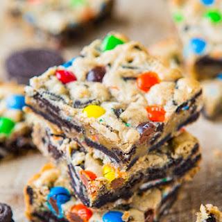 Loaded M&M Oreo Cookie Bars Recipe