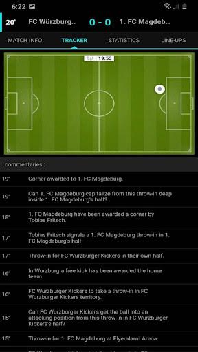 Livescores App - Soccer Sports ss3
