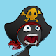 Pirate survival: Bomb edition. Stickman like game