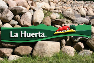 Photo: Painted Wood Sign La Huerta is a Frozen Food Company of Mexico...Check out http://www.nicecarvings.com