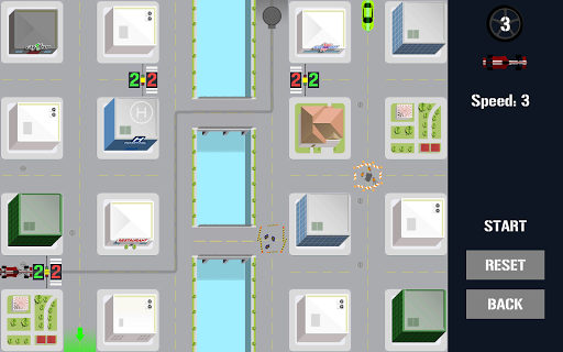Traffic Control Puzzle - City Driving apkpoly screenshots 5