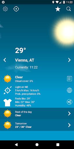 Weather Austria XL PRO  screenshots 1