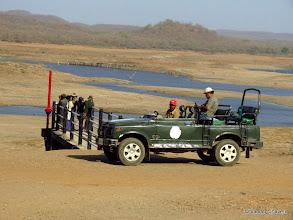 Photo: BNHS members bird-watching at Kamleshwar Dam