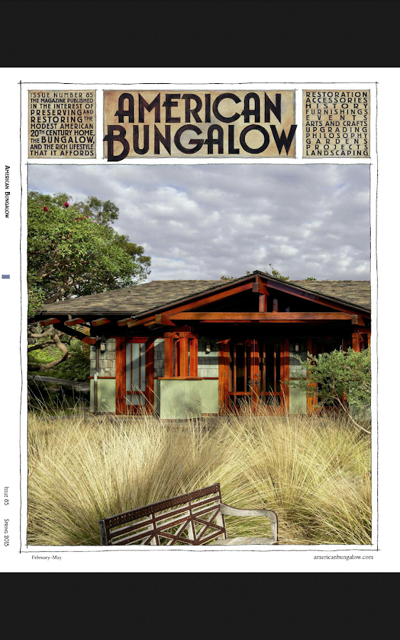 American Bungalow Magazine Screenshot