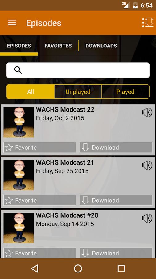 House of WACHS Modcast- screenshot