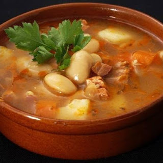 Thick Bean Soup With Vegetables