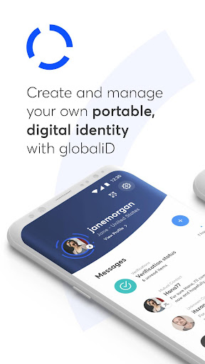 globaliD u2014 portable, digital identity screenshots 1