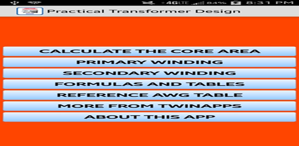 Download Electrical- Transformer Design APK latest version