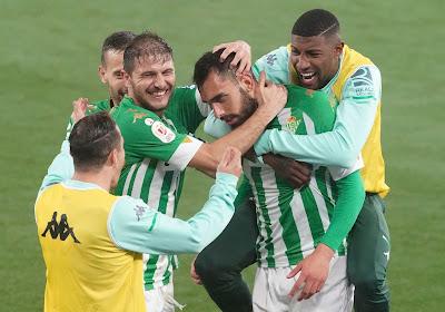 Liga: Borja Iglesias replace le Betis dans la course à l'Europe