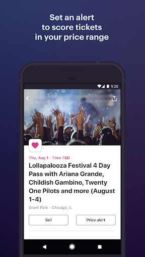 StubHub - Live Event Tickets screenshot 4