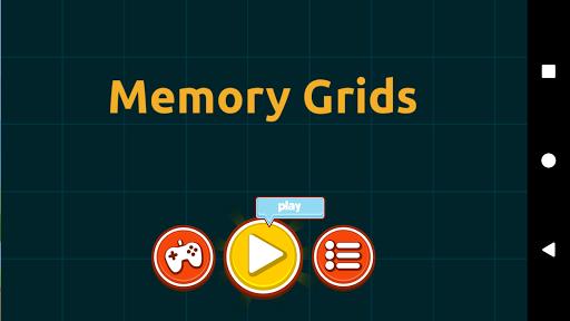 Memory Grids Game  screenshots 1