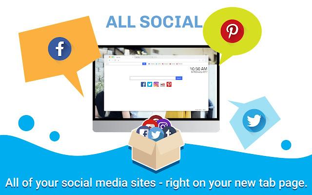 All Social New Tab