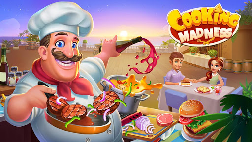 Cooking Madness - Un Jeu de Chef de Restaurant  captures d'écran 1