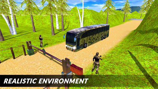 Off-road Army Bus: Army Driver Bus Simulator 1.0 screenshots 1