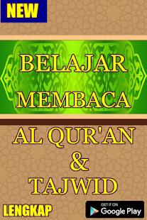 Belajar Membaca Al Qur'an Dengan Tajwid - náhled