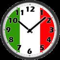 Italy Clock icon