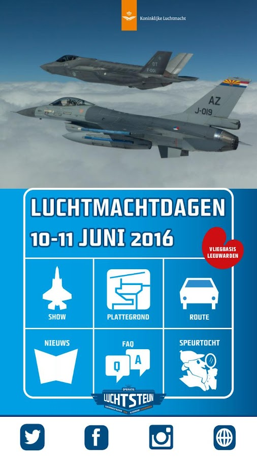 Luchtmacht Dagen 2016- screenshot