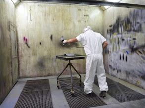 Photo: Cabine de peinture à vois sèche ab decometal