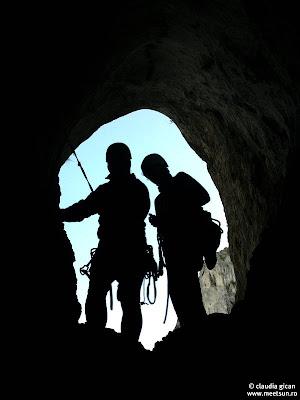 Cheile Turzii. Grota Sansil. Trasee alpinism