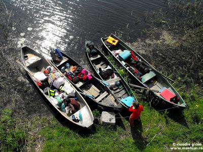 barcile trase la mal - vedere din foisor - Canalul Magearu