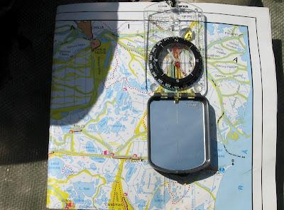 navigare cu harta si busola
