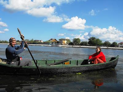 cu barcile cu vasle pe ape - vedeta