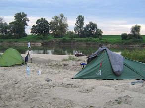 Photo: Campen hinter Niepolomice
