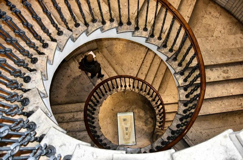 Life is a Staircase // Metropolitan Ervin Szabó Library di Cattleya