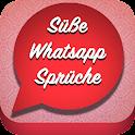 Süße WhatsApp status Sprüche icon