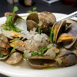 delicious clamps at Porto in Macau in Macau, , Macau SAR
