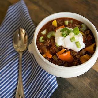 Guilt Free Buffalo Chili