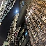 apartment buildings at LKF, HK in Hong Kong, , Hong Kong SAR