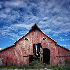 Dead red  by Todd Reynolds - Buildings & Architecture Decaying & Abandoned