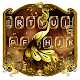 Golden Glitter Butterfly Theme Keyboard Download on Windows