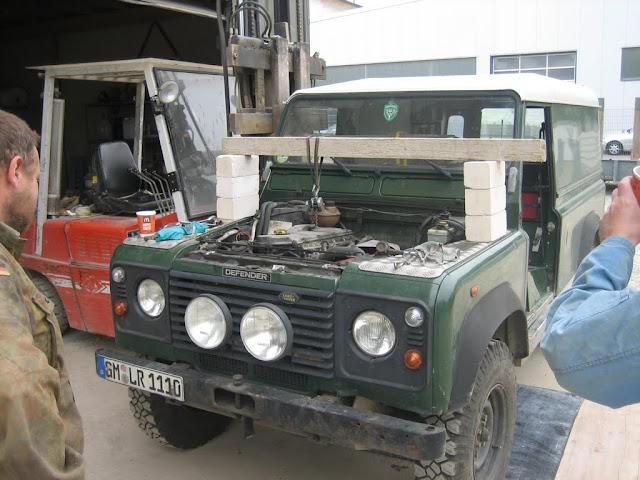 2001 Kreuzgelenk vorne Land Rover Defender Td5 ab Bj
