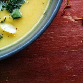 Saffron Cauliflower Soup