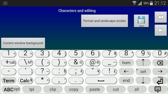 Jbak2 keyboard. Keyboard constructor. No ADS- screenshot thumbnail