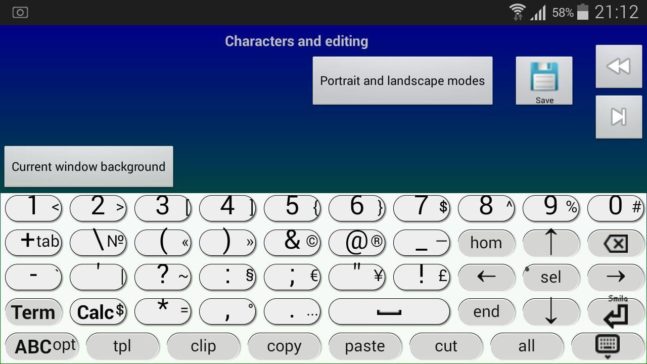 Jbak2 keyboard. Keyboard constructor. No ADS- screenshot