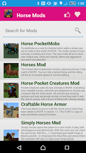 Horse Mod For MCPE. screenshot
