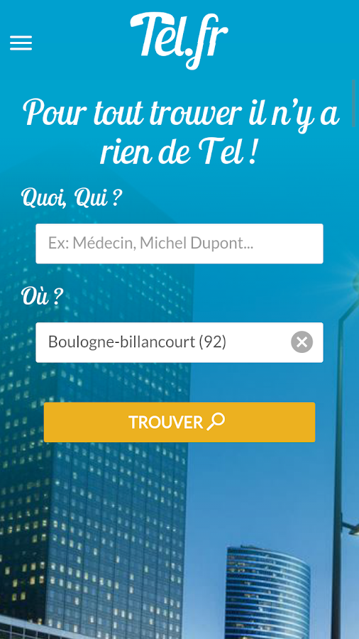 Tel.fr- screenshot